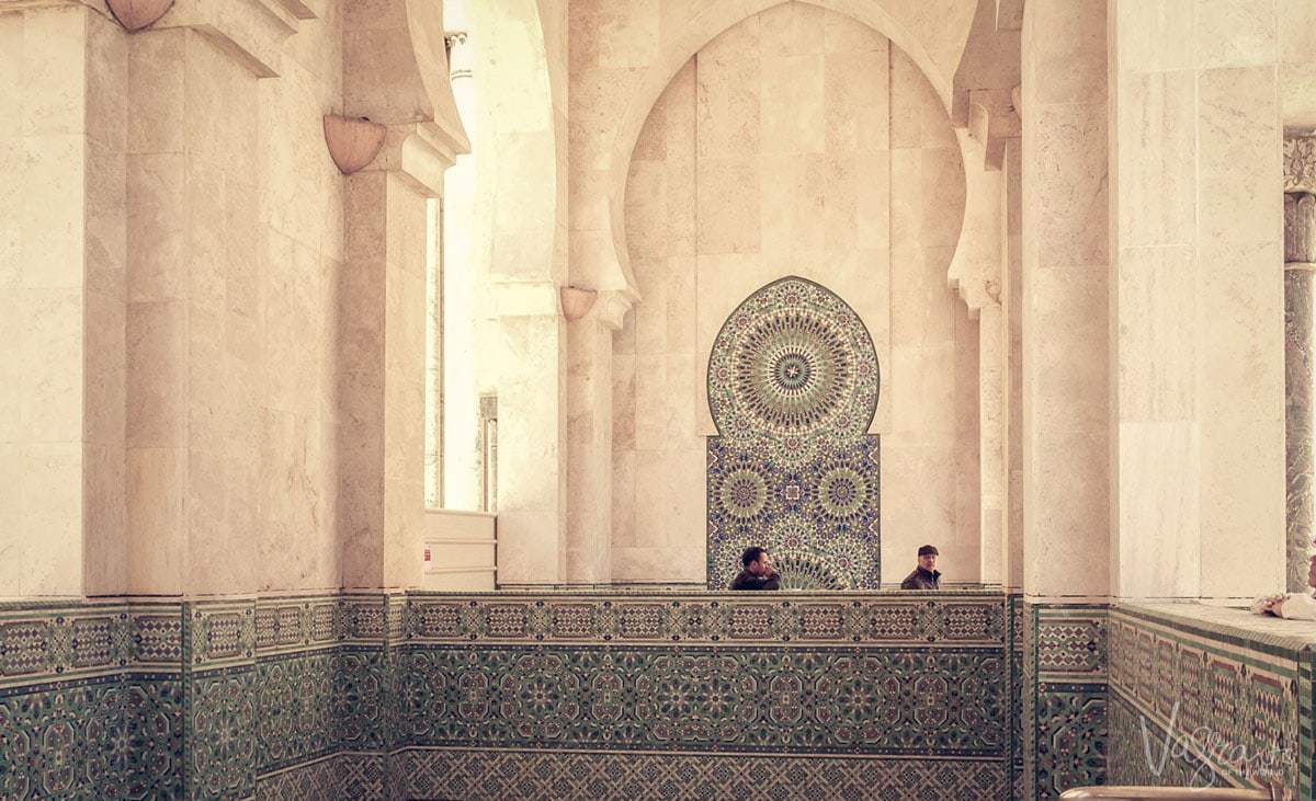 It is a free thing to do and non-muslims can visit the Mosque Hassan II Casablanca Morocco