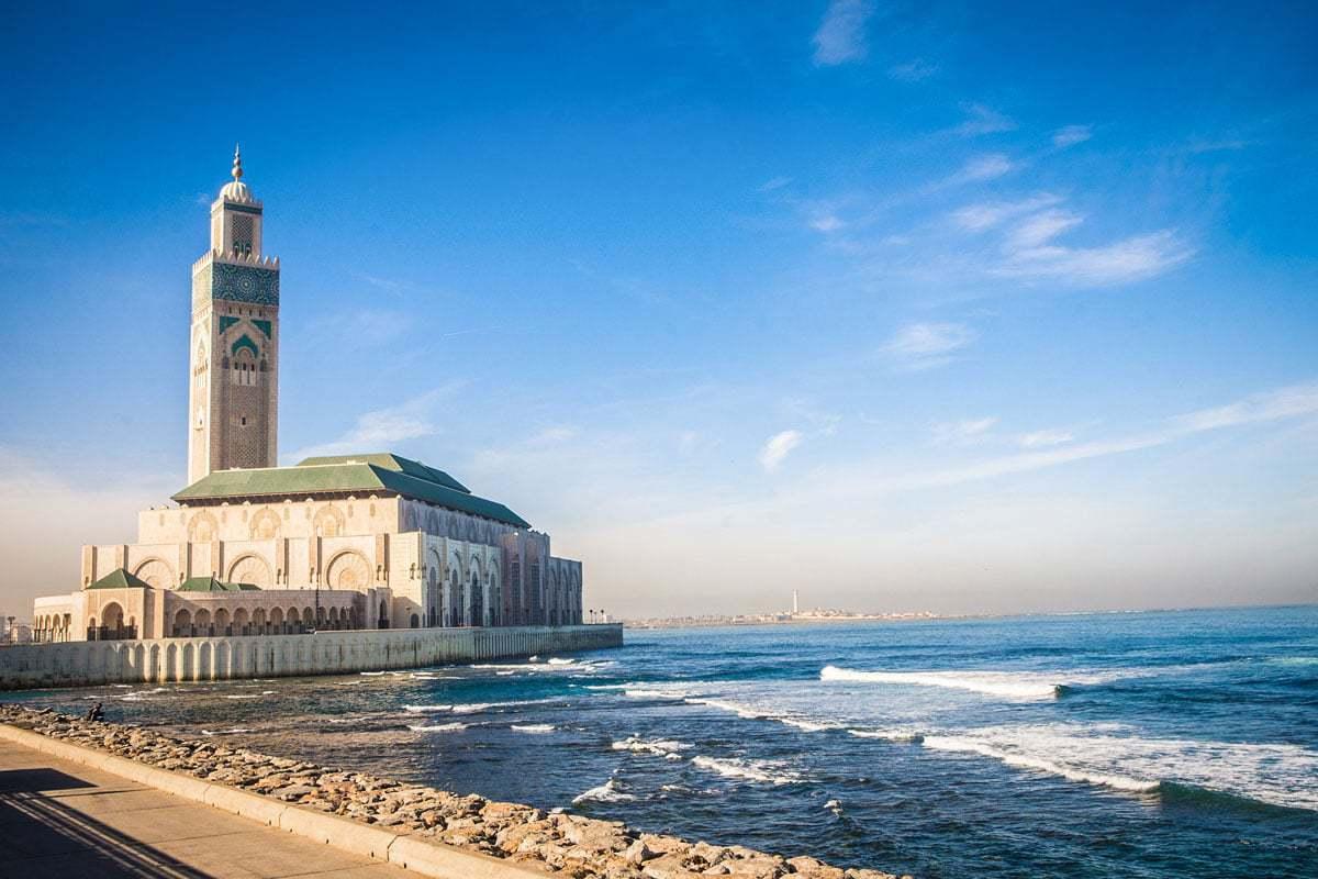 Mosque Hassan II Casablanca Morocco