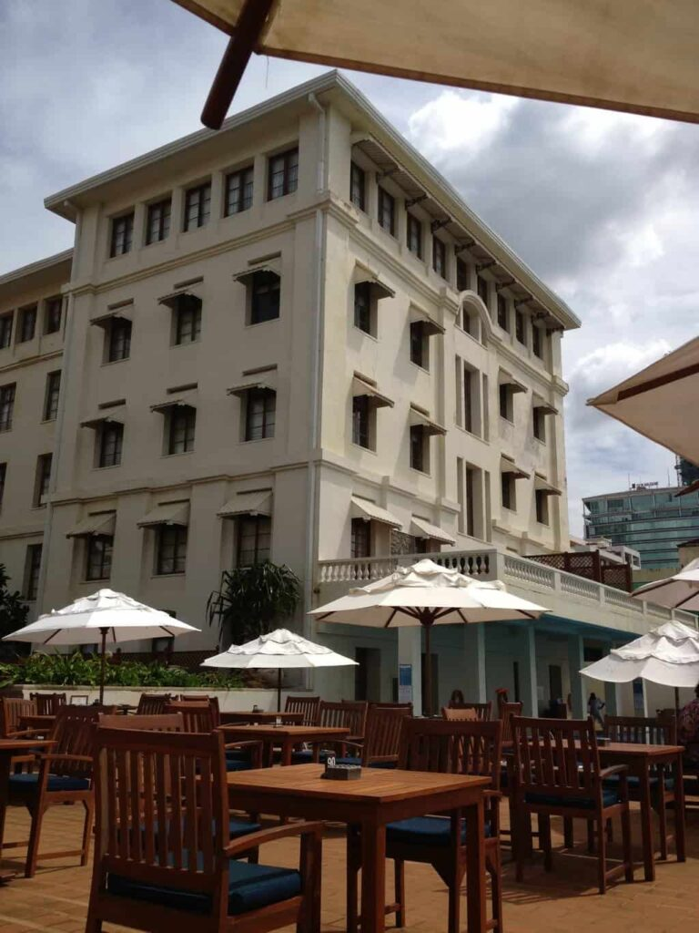Galle Face Green. Galle Hotel