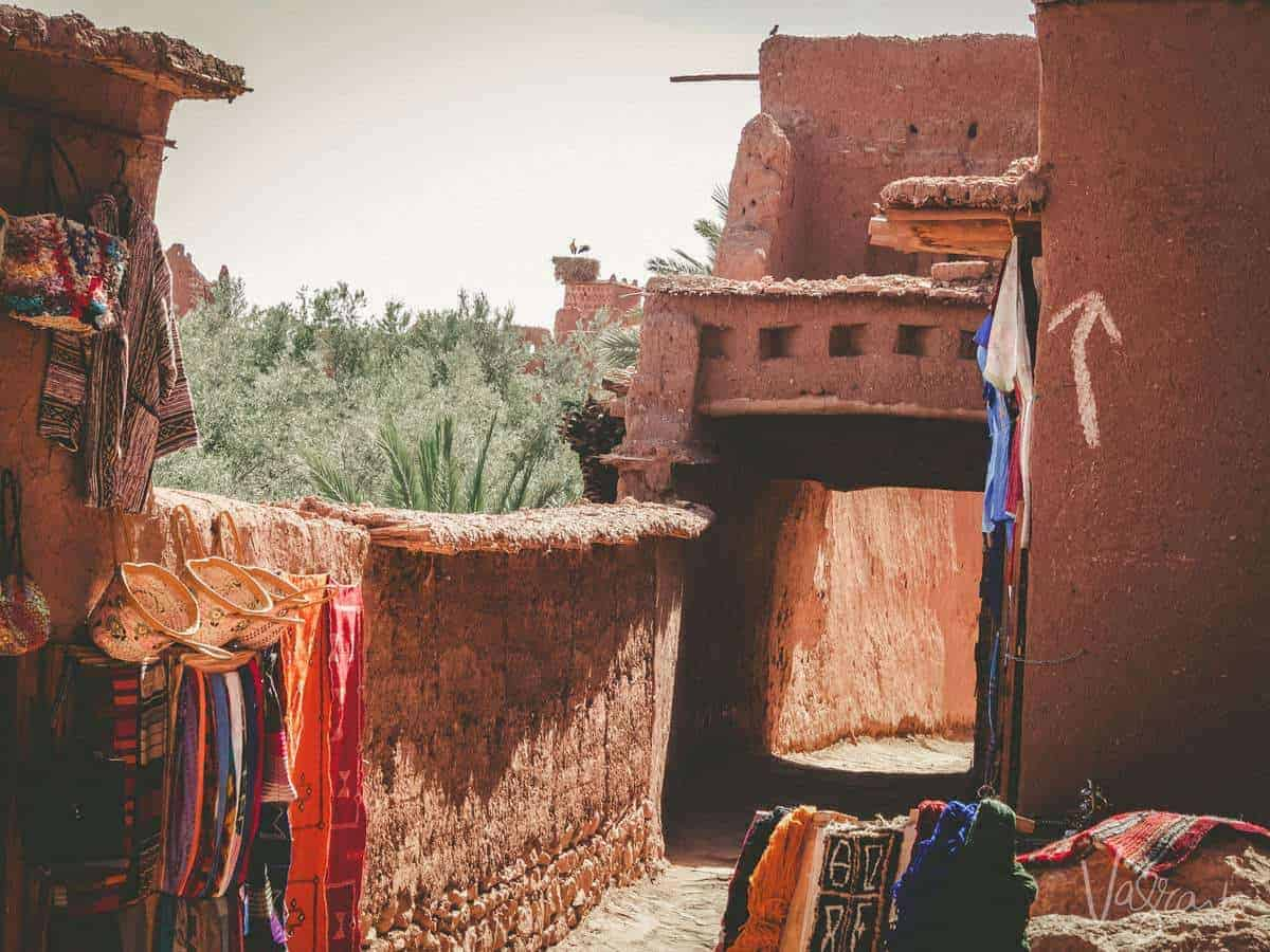 Outside a house in Ait Benhaddou Morocco