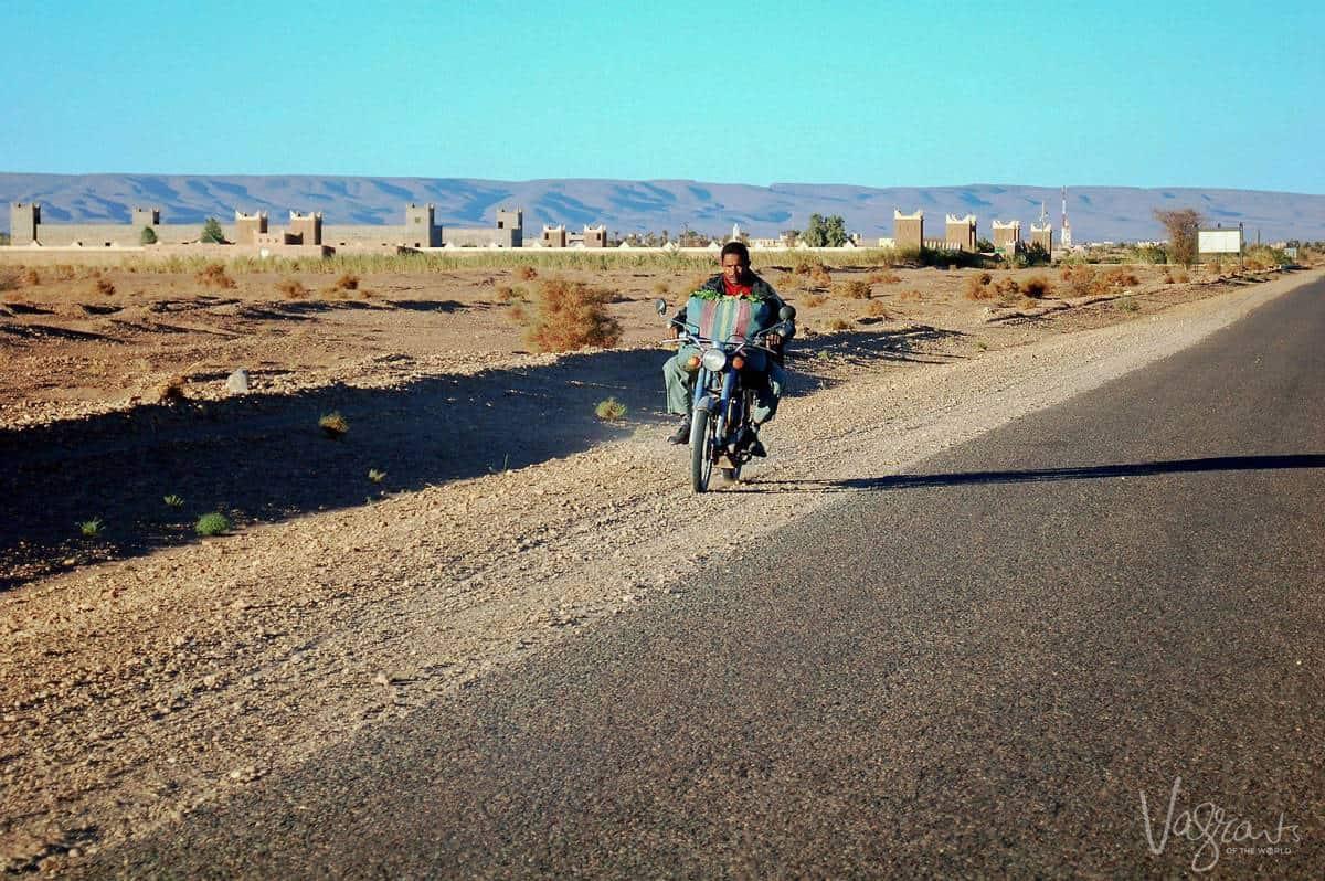 Marrakech to Fez by car - Anti Atlas Mountains