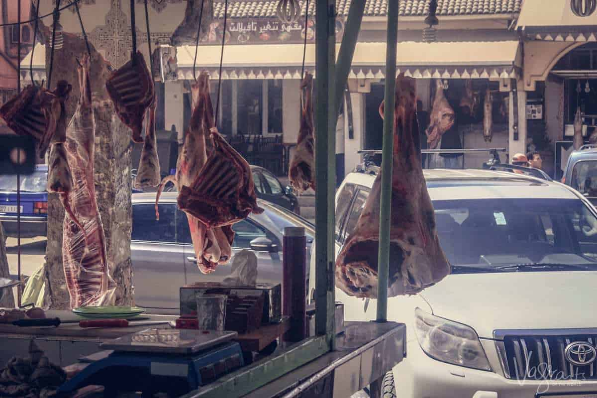 Restaurants in Zaida in the Midelt province Morocco