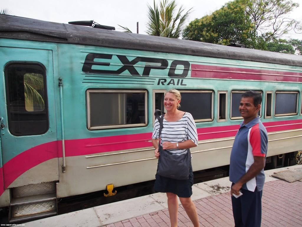 Colombo Train Station Sri lanka