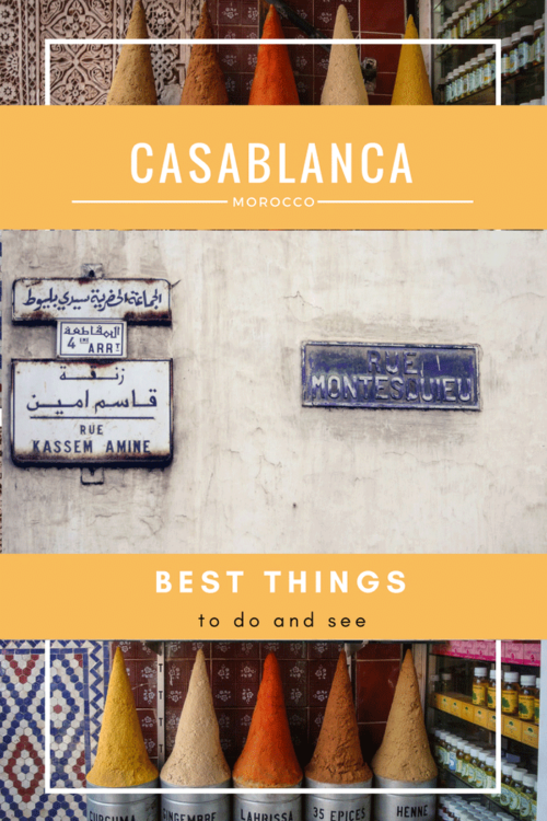 Discover the best things to do in Casablanca Morocco | What to see and do in Casablanca Morocco with travel guide and packing tips. #casablanca #Morocco #traveltips