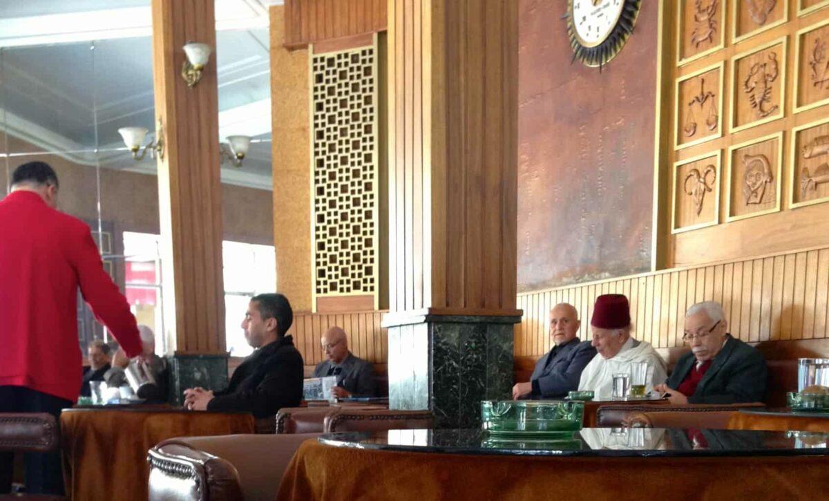 Gran Café de Paris in Tangier Morocco - Things to do in Tangier