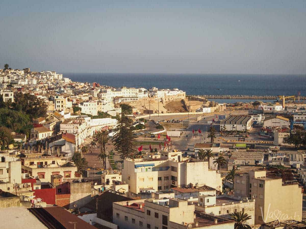 The city of Tangier Morocco