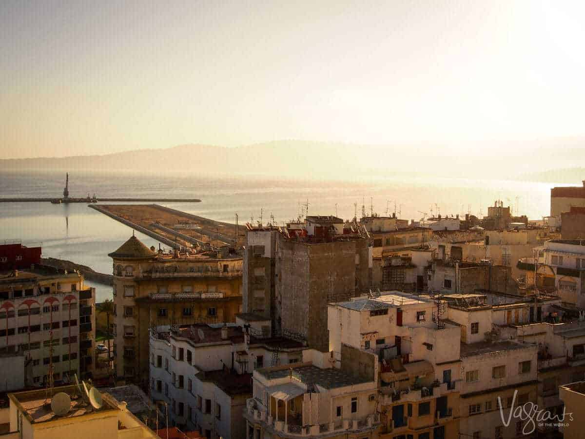 Tangier Morocco - The Strait of Gibraltar