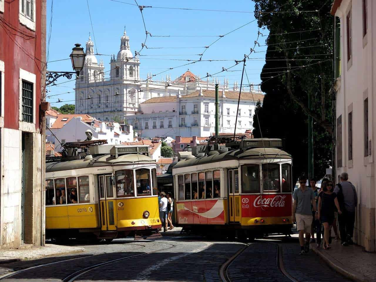 Lisbon Tram. Lisbon Sightseeing. Best things to do in Lisbon Portugal