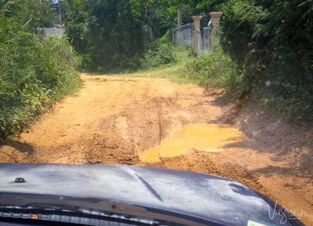 Vieques roads