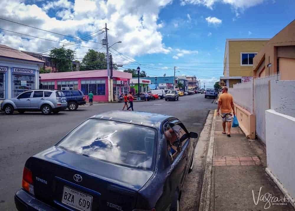 Vieques Main Street Isabelle II