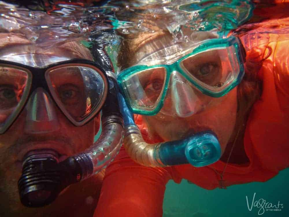 Snorkelling on Vieques Island