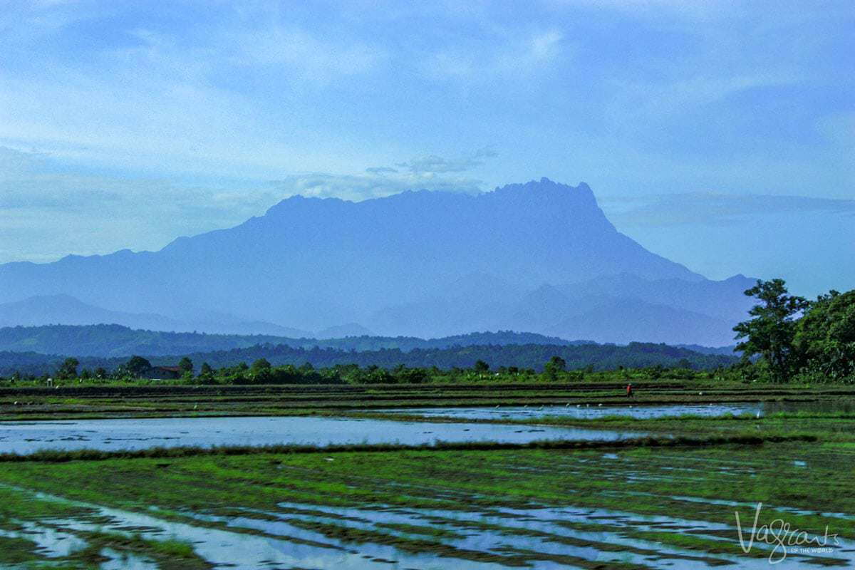 Mount Kinabalu. Sabah Borneo