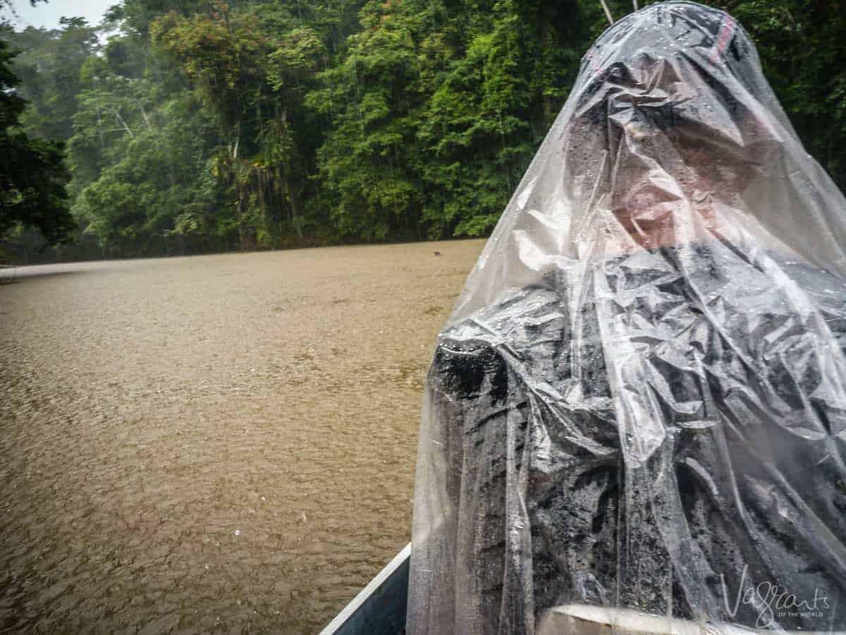 Rain Storm on the Rio San Juan Nicaragua