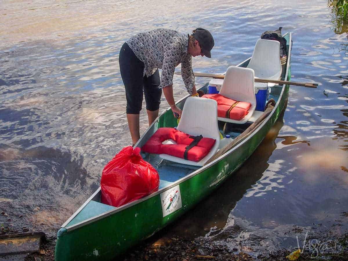 Rio San Juan Tours Nicaragua - Canoe tour
