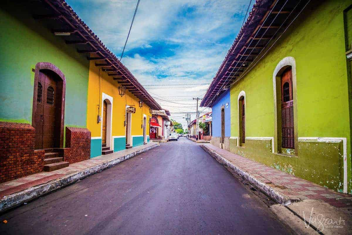 Granada Nicaragua - The Old Colonial City