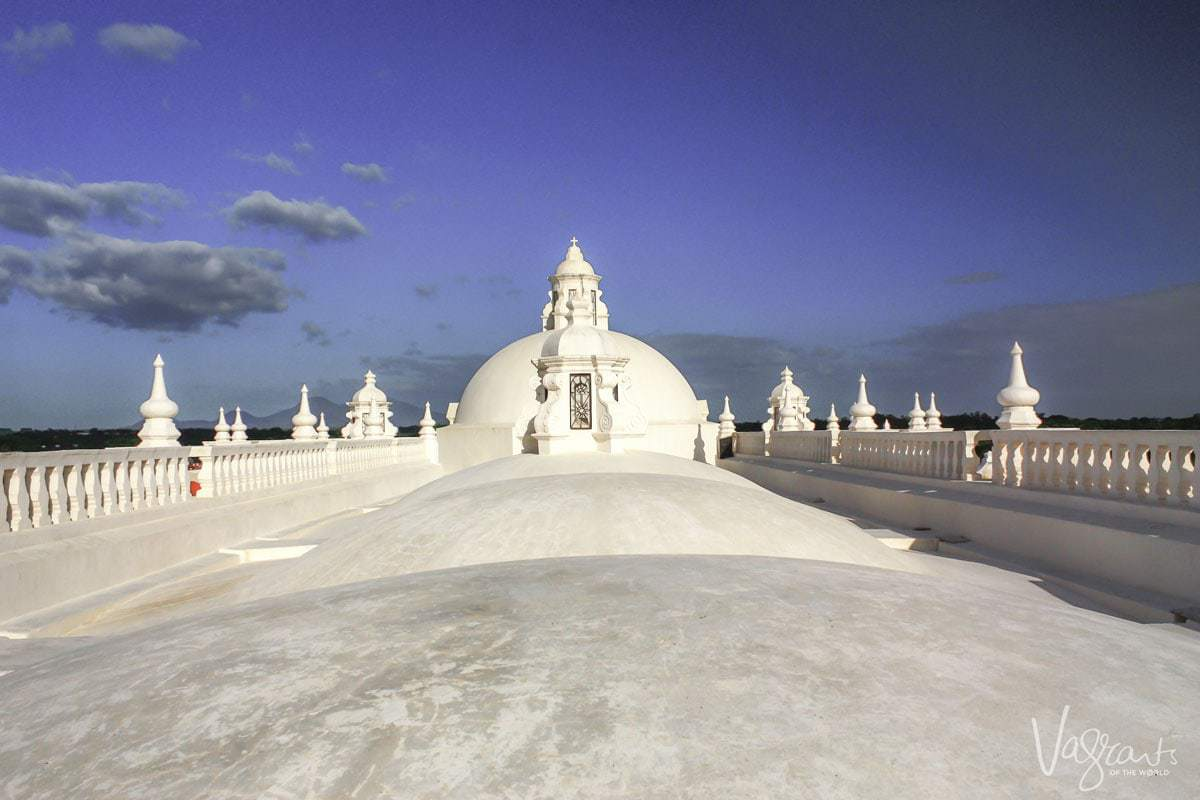 Things to do in Leon Nicaragua- Climb the León Cathedral Roof