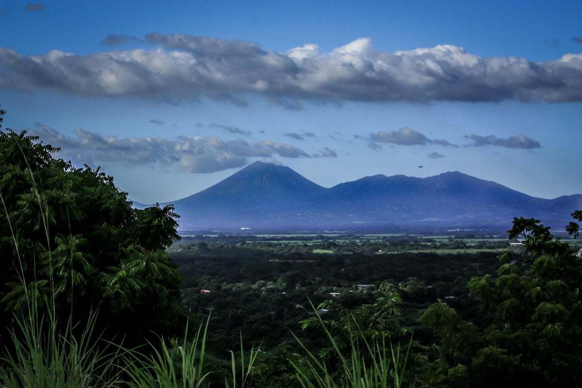 Volcano Leon Nicaragua