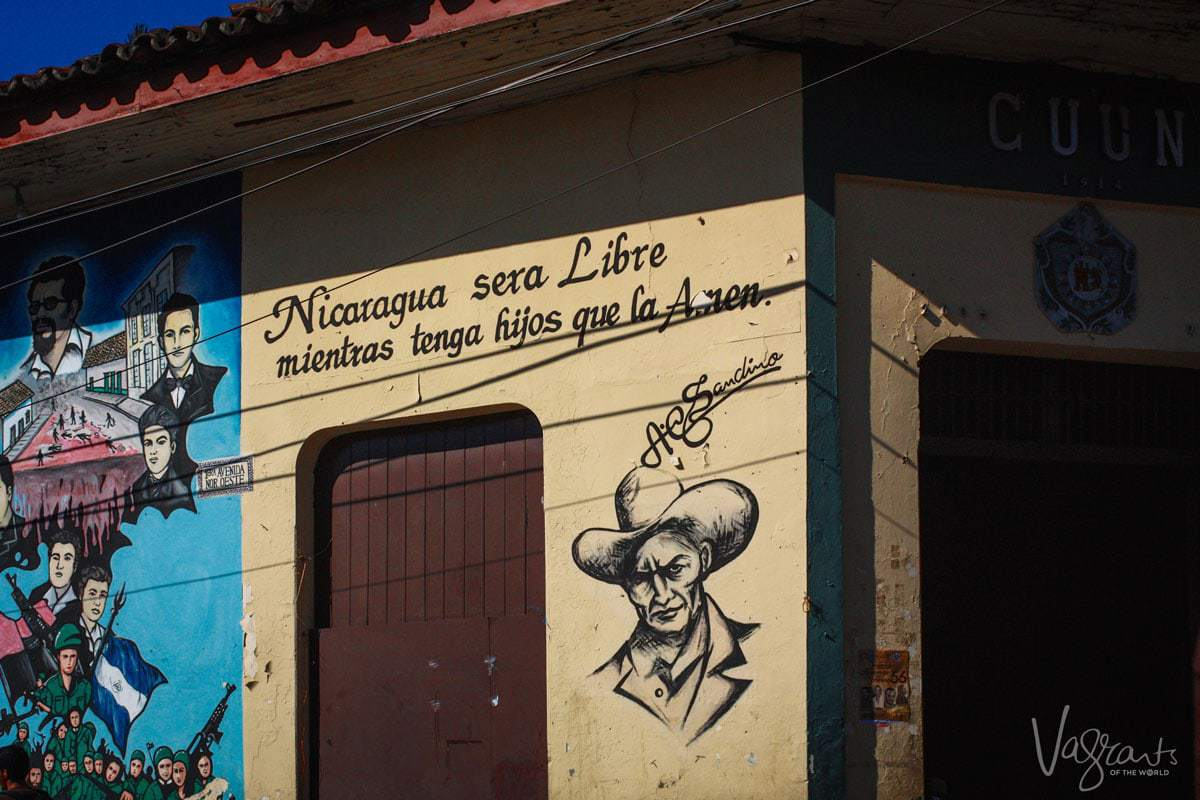 What to see in Leon Nicaragua - The Revolution Murals