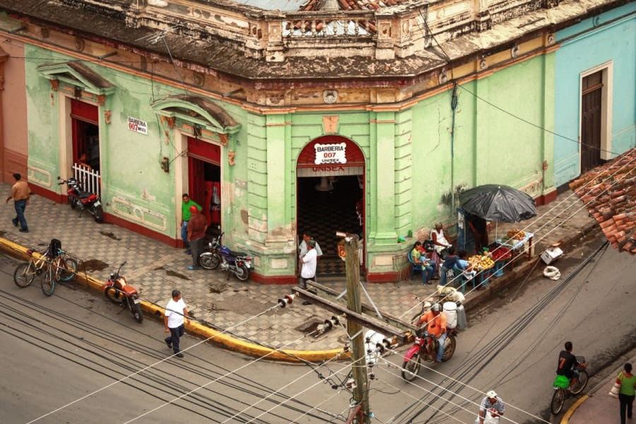 One day In Granada Nicaragua - The view from Iglesia La Merced