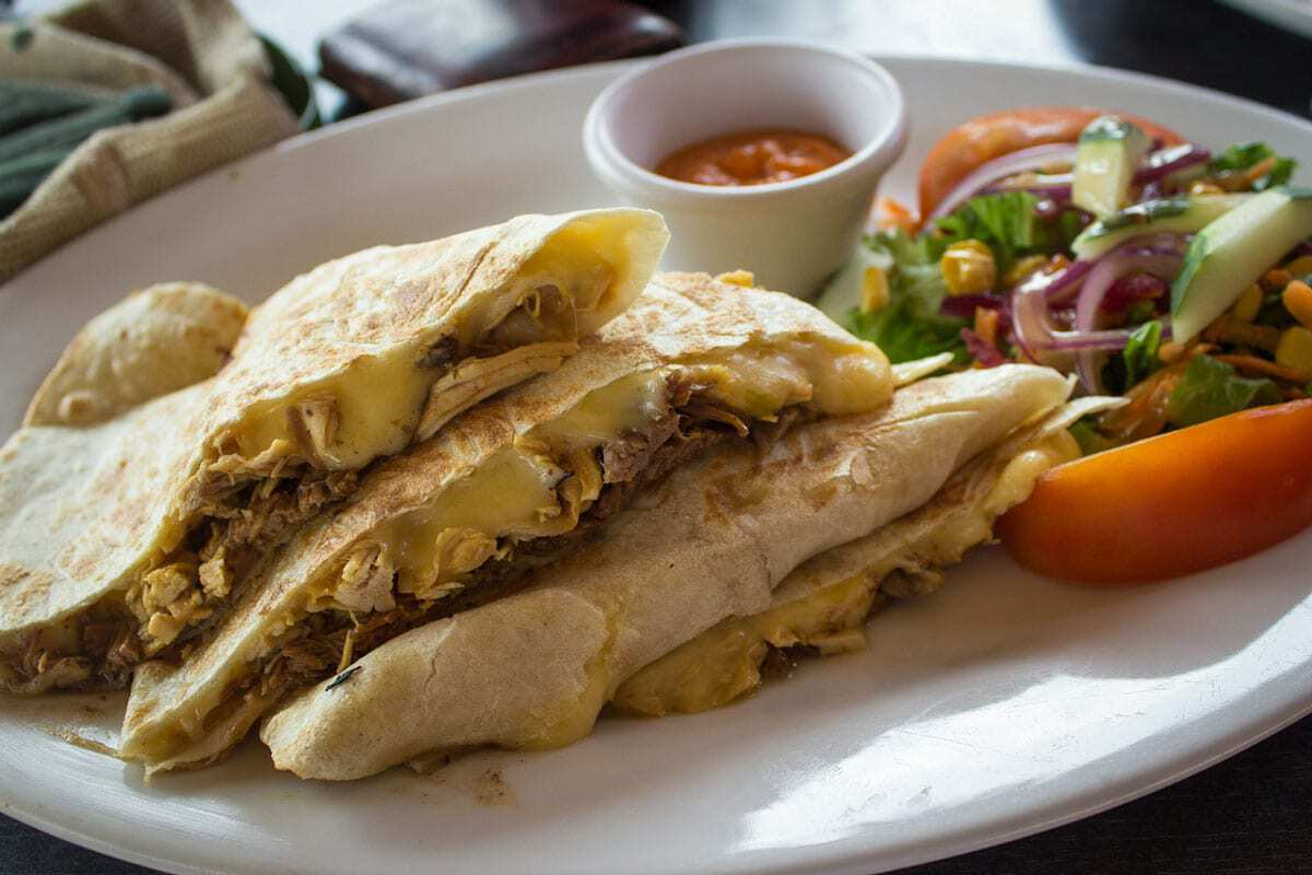 Eat Quesadillas - Best things to do in San Jose Costa Rica