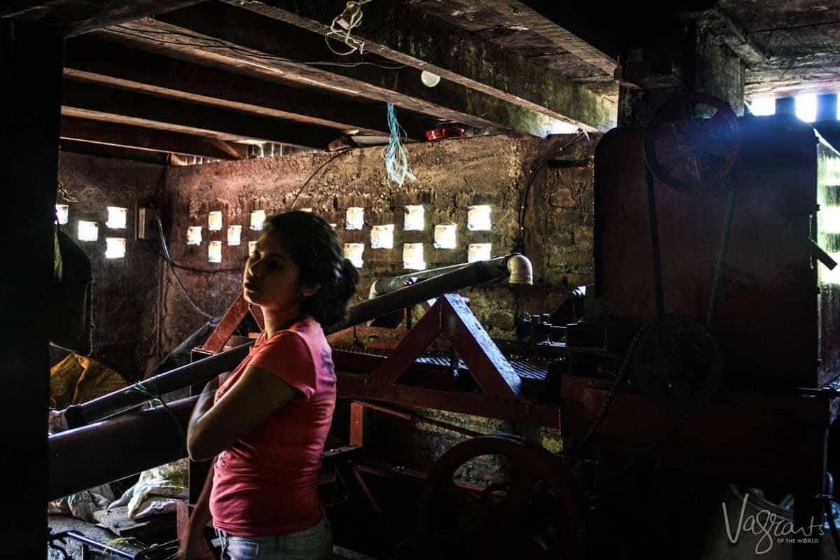 Coffe plantation tour Matagalpa Nicaragua