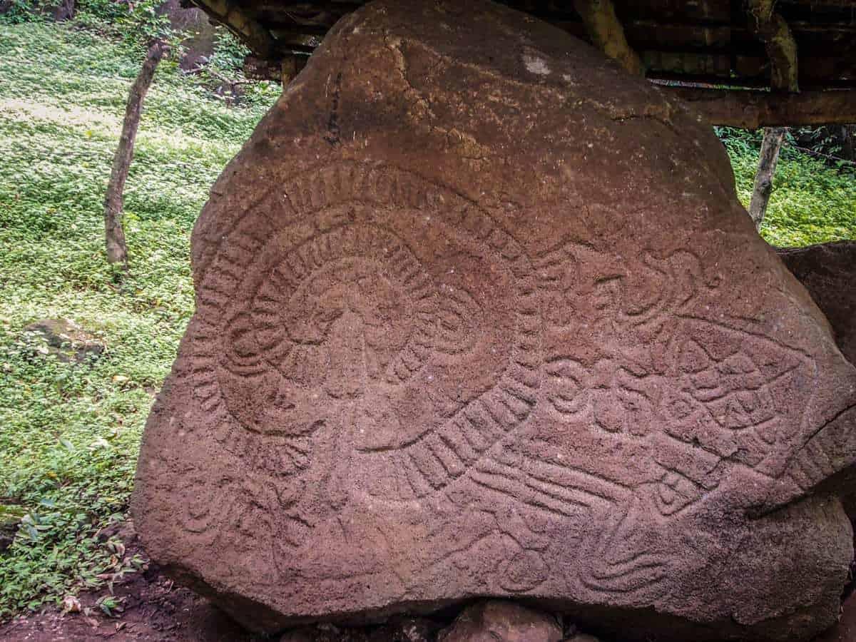 Petroglyphs,Ometepe Island Nicaragua