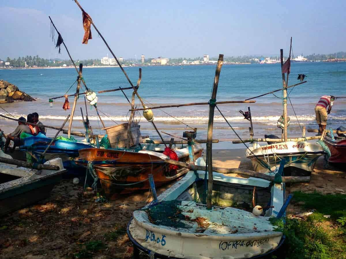 Fishing Boats in Sri Lanka