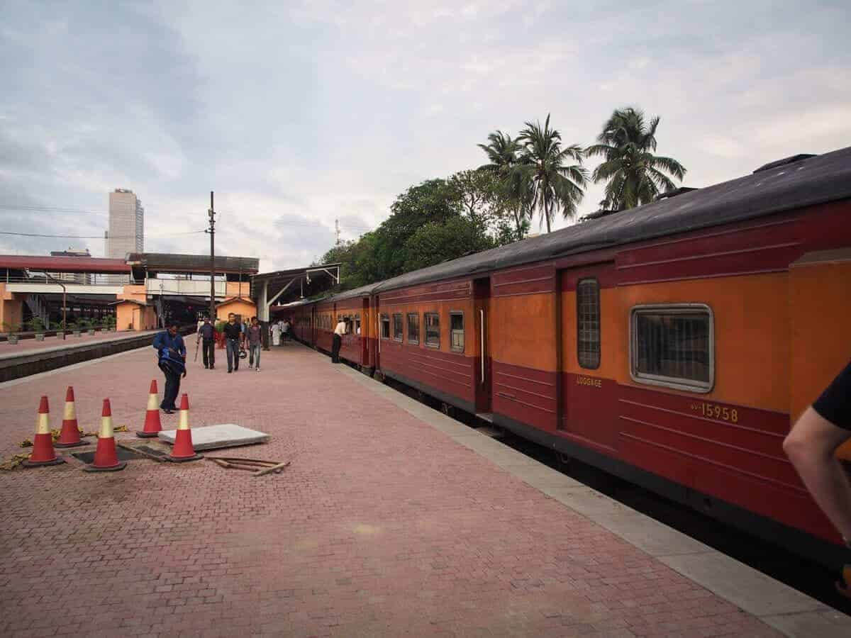 Catching the Train in Sri Lanka