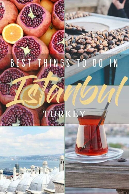 Wondering what to do in Istanbul? We have put together a travel guide with all the best things to do in Istanbul