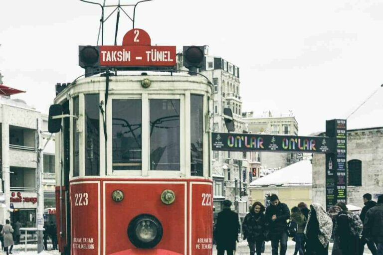 A locals guide to Istanbul - iconic Istanbul tram