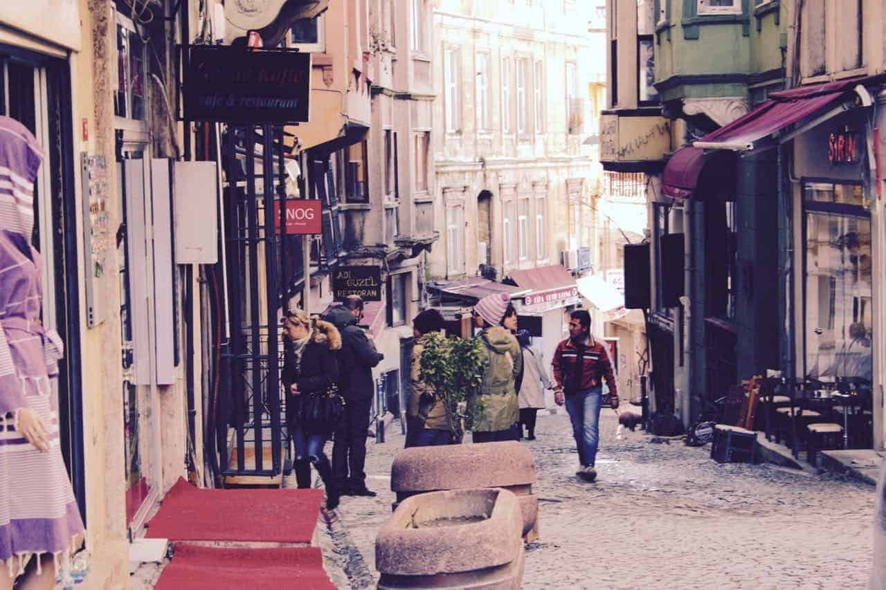 A guide to Istanbul. Turkey