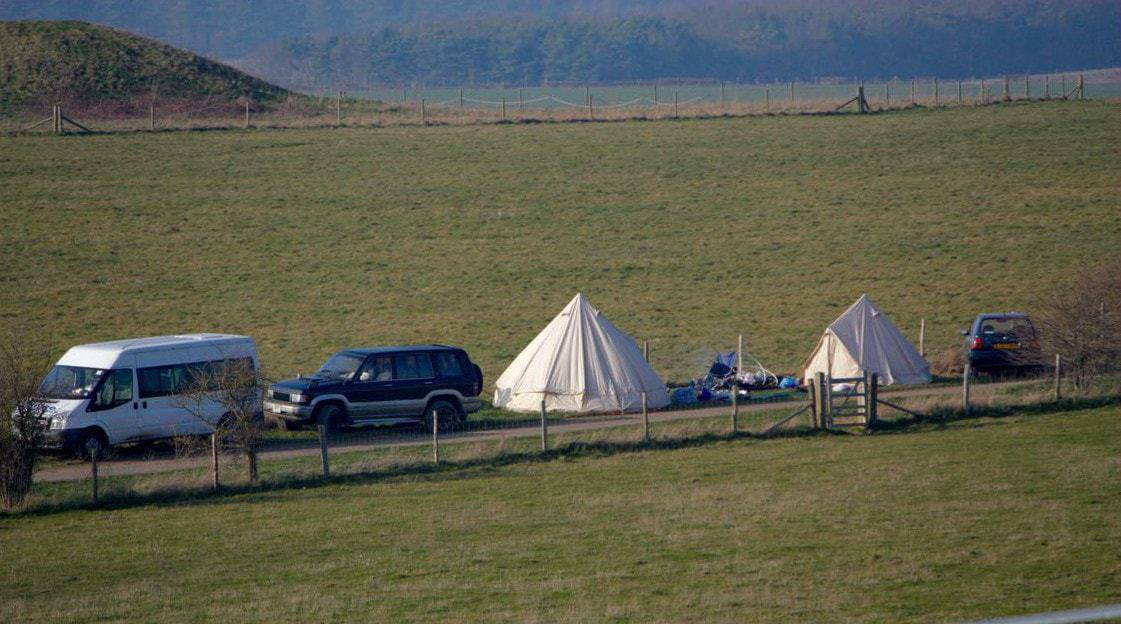 Camping out for the Spring Equinox at Stonehenge