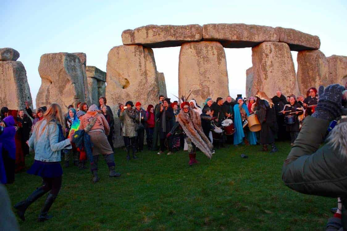 Stonehenge Equinox celebrations