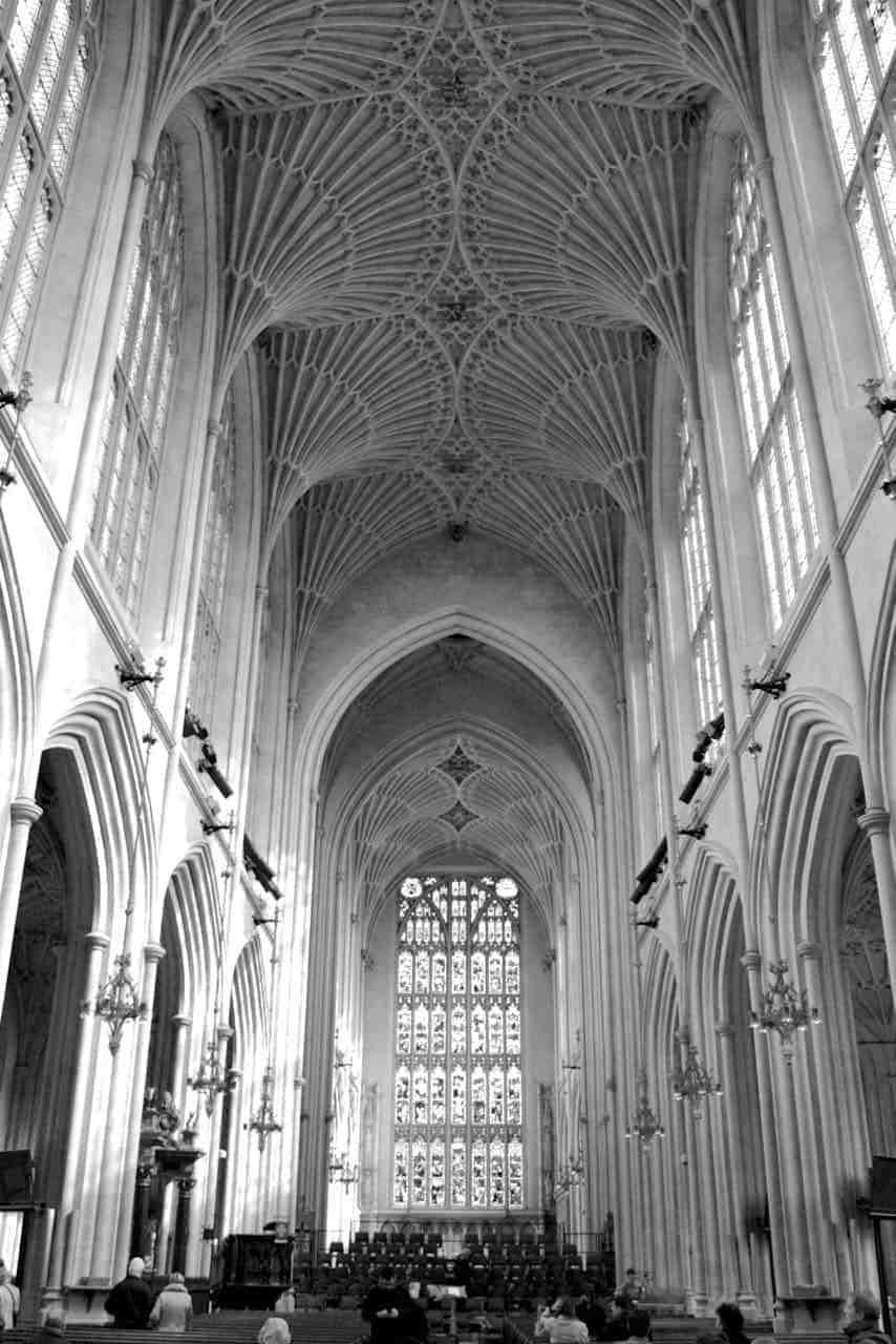 Bath Abbey, England UK