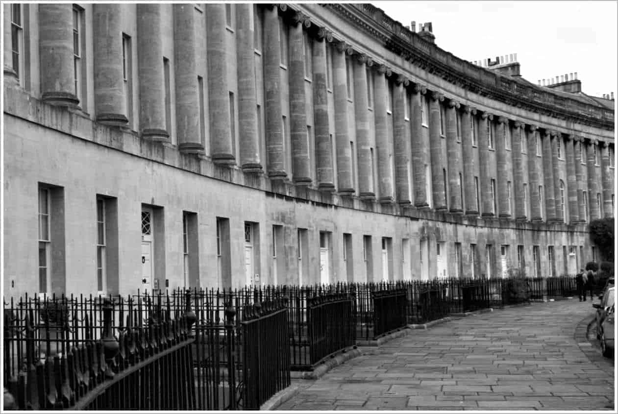 Royal Crescent, Bath England