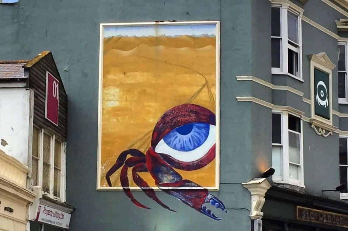 Street Art Brighton England
