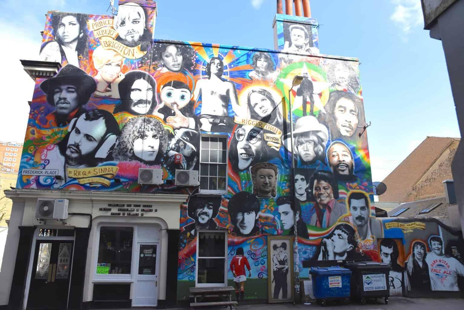 Street Art, Brighton England