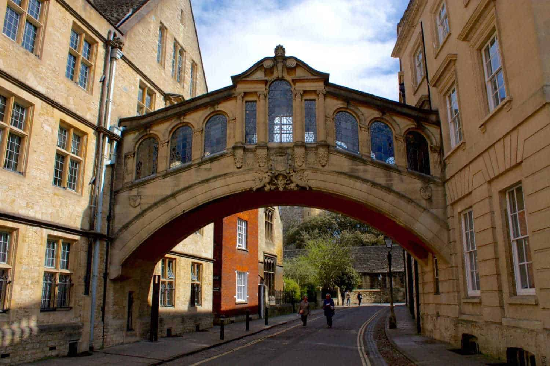 The Bridge Of Sighs Oxford UK