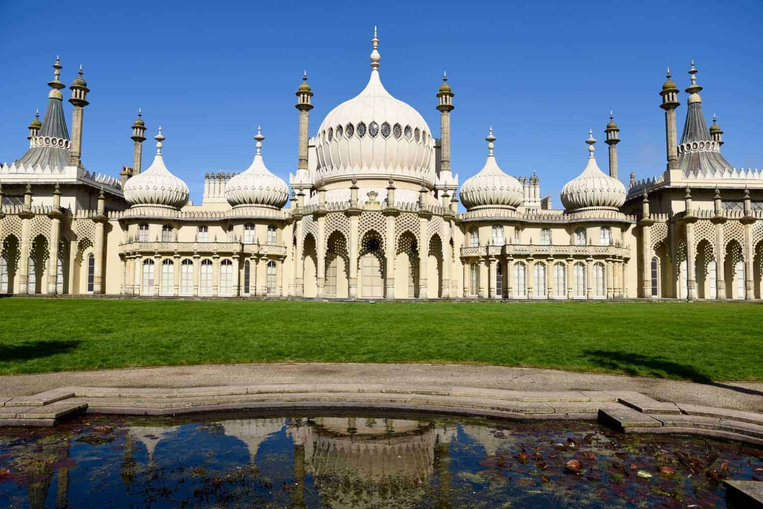 The Royal Pavilion, Brighton England