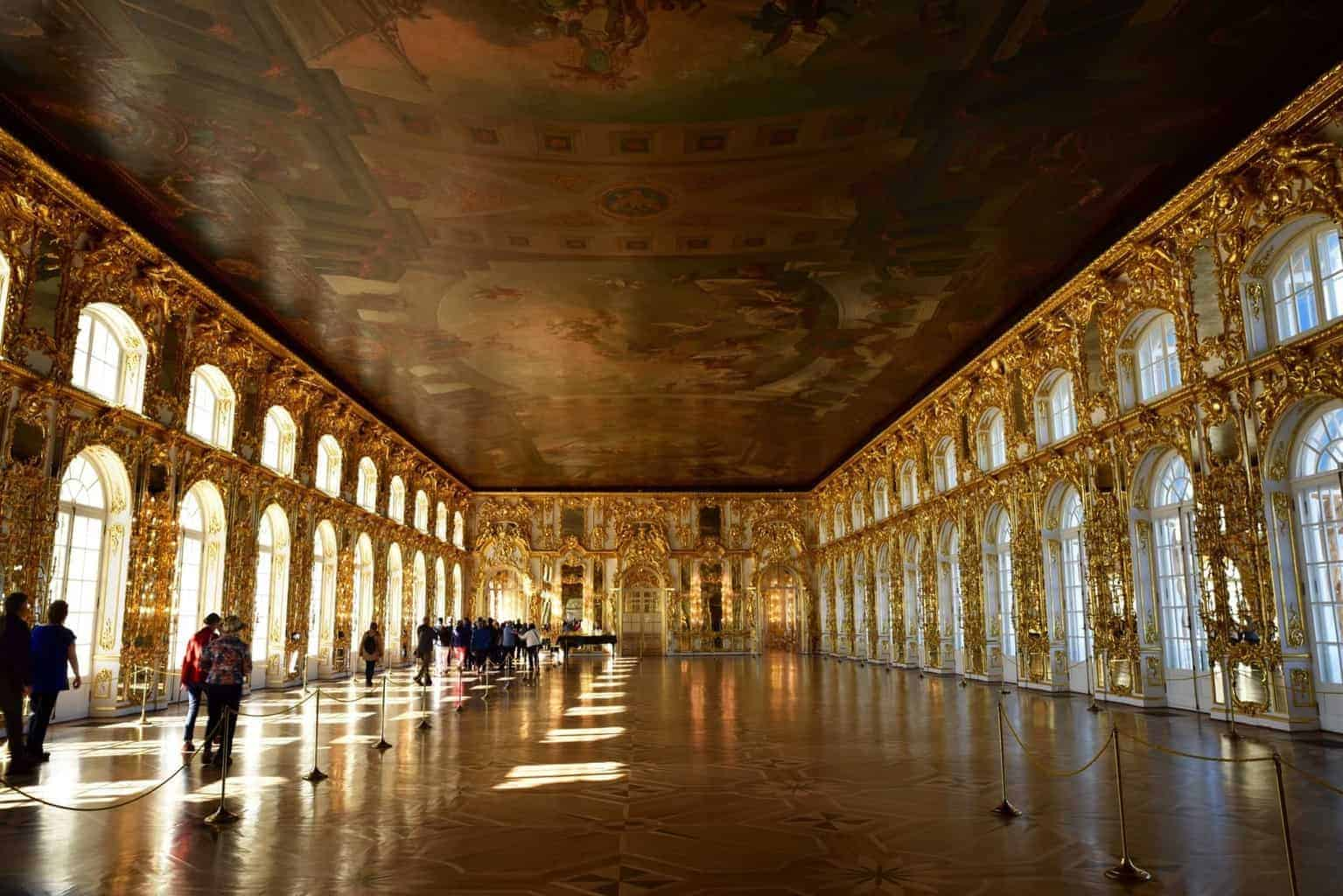 The Catherine Palace St Petersburg Russia