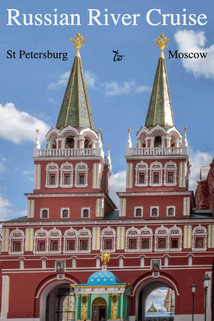 A russian river cruise is the best way to see Russia travelling from St Petersburg to Moscow. #russia #cruises #rivercruise