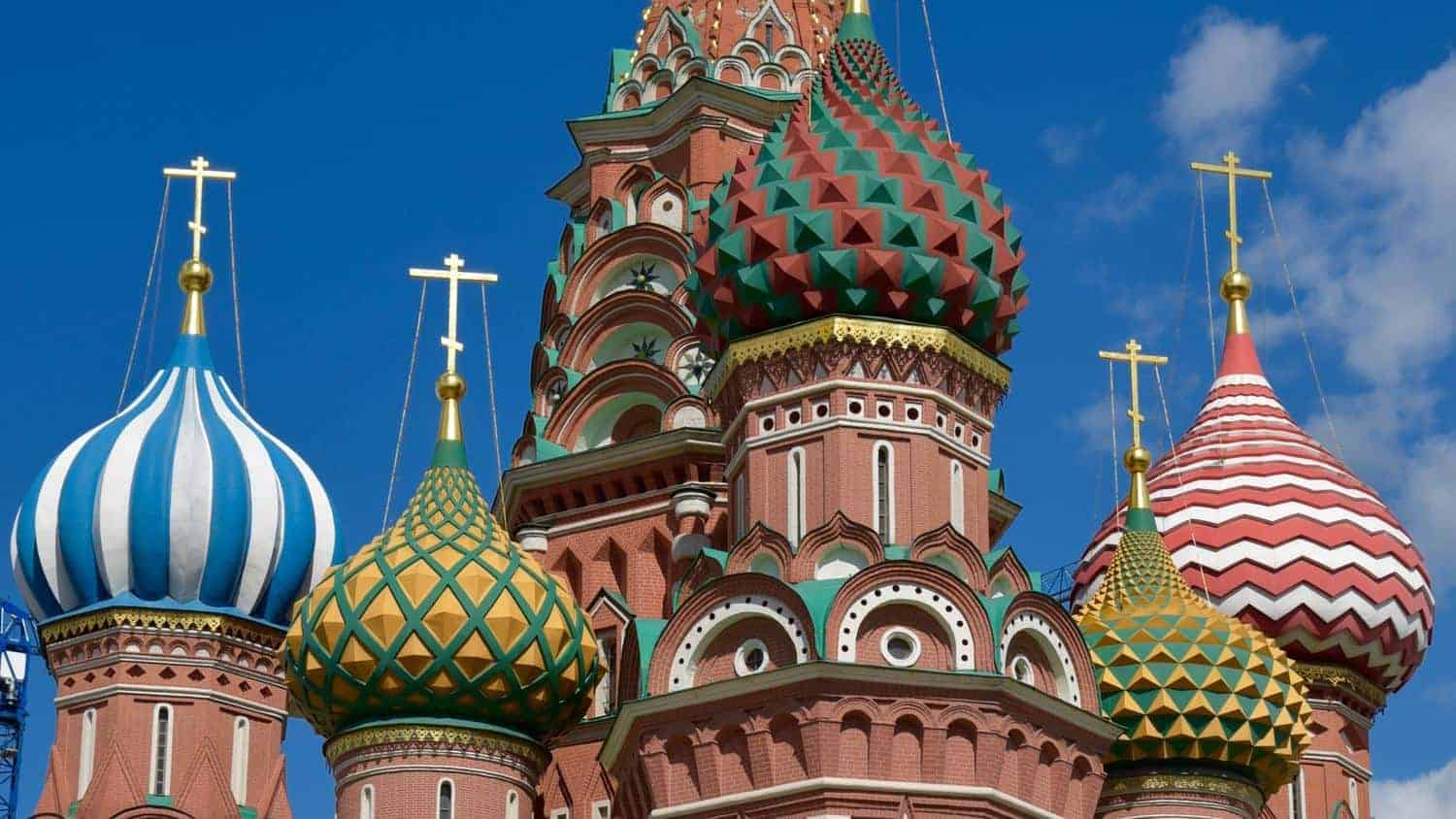 St Basils. The Best Of moscow attractions
