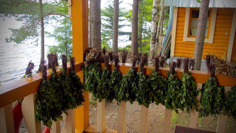Traditional Russian Banya Mandrogy
