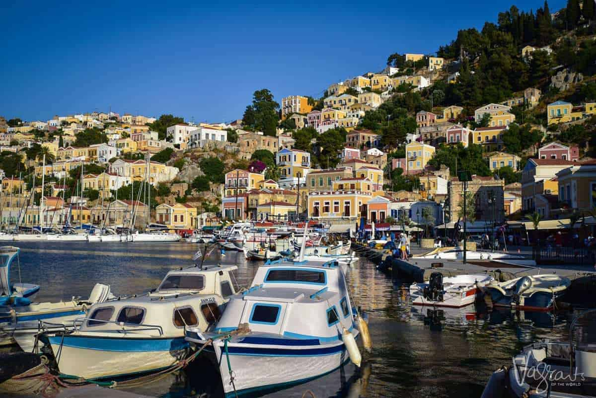 Symi Island Greece - MedSea Yachts.Sailing In The Mediterranean