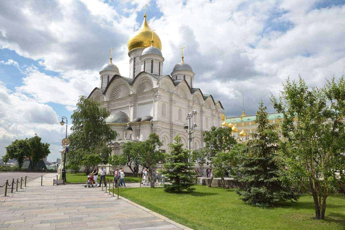 The Kremlin Moscow. Is Moscow dangerous for tourists. A question often asked and the answer is Moscow is very safe for tourists providing you always take the usual precautions.