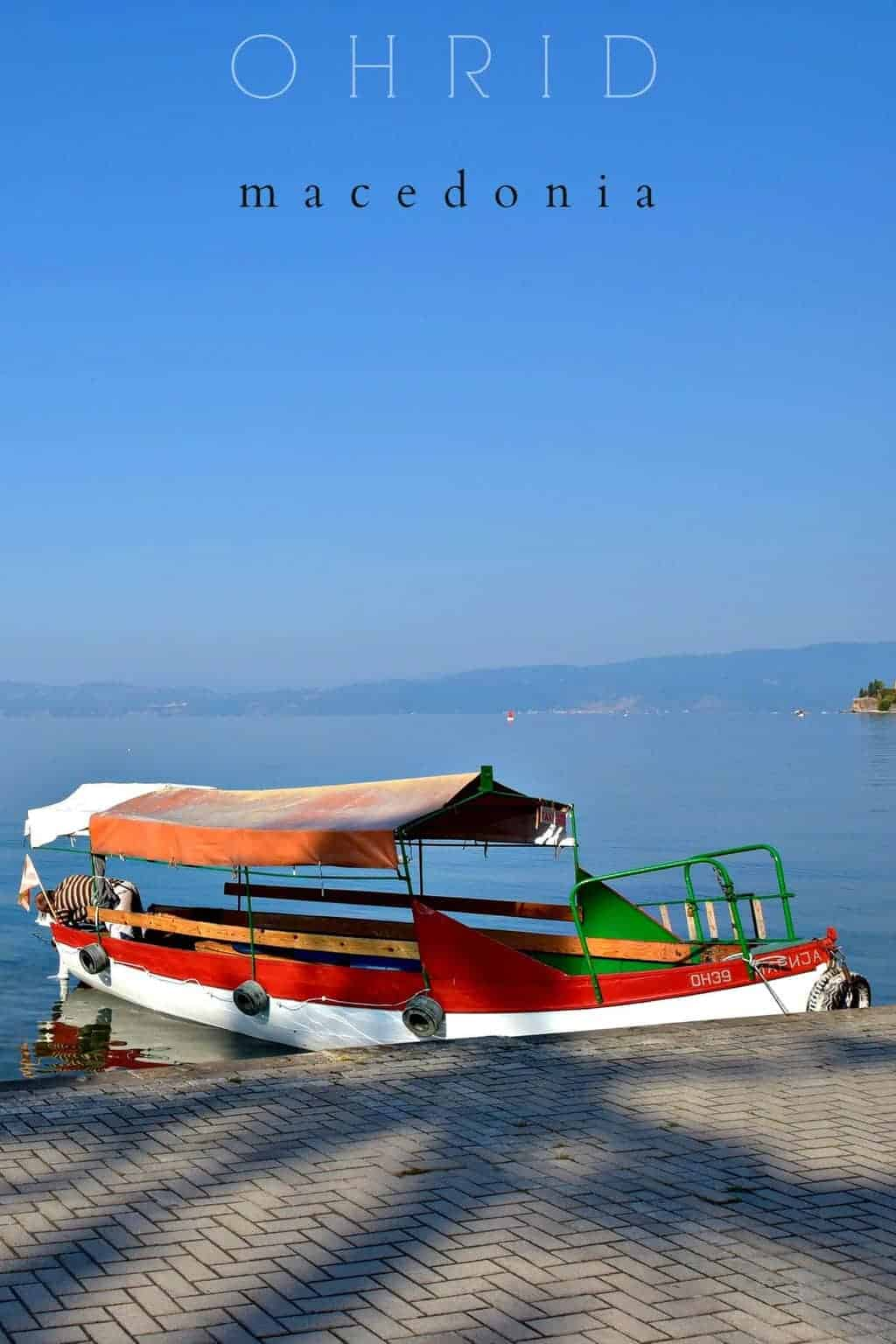 Lake Ohrid in Macedonia is the perfect chilled out getaway.