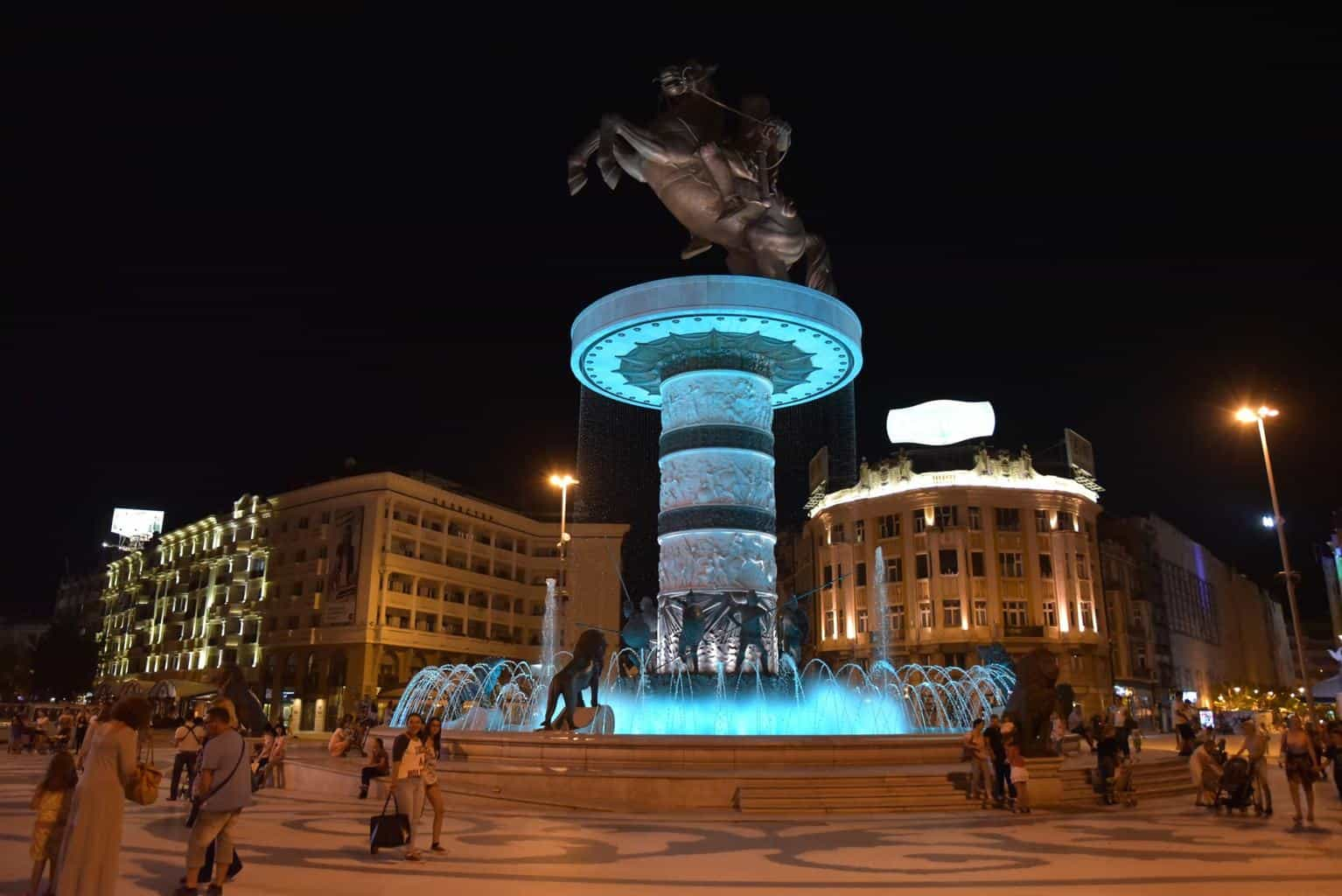 Skopje, Macedonia The City Of Statues