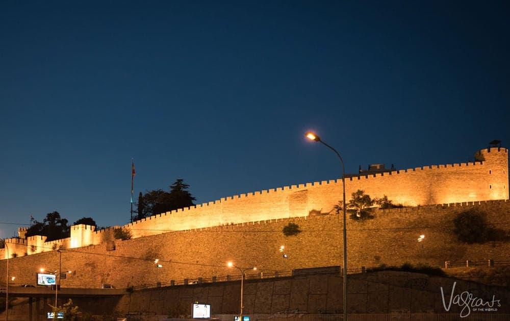 Kale Fortress Skopje Macedonia