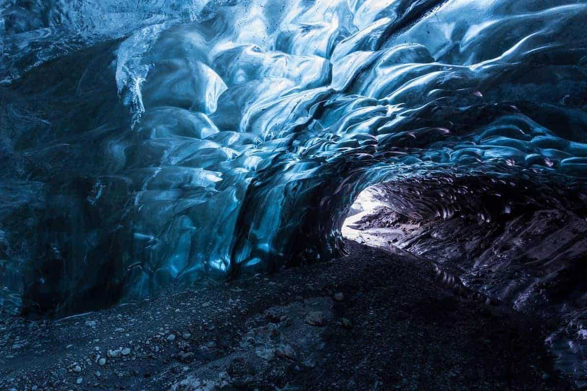 Ble ice cave -Iceland
