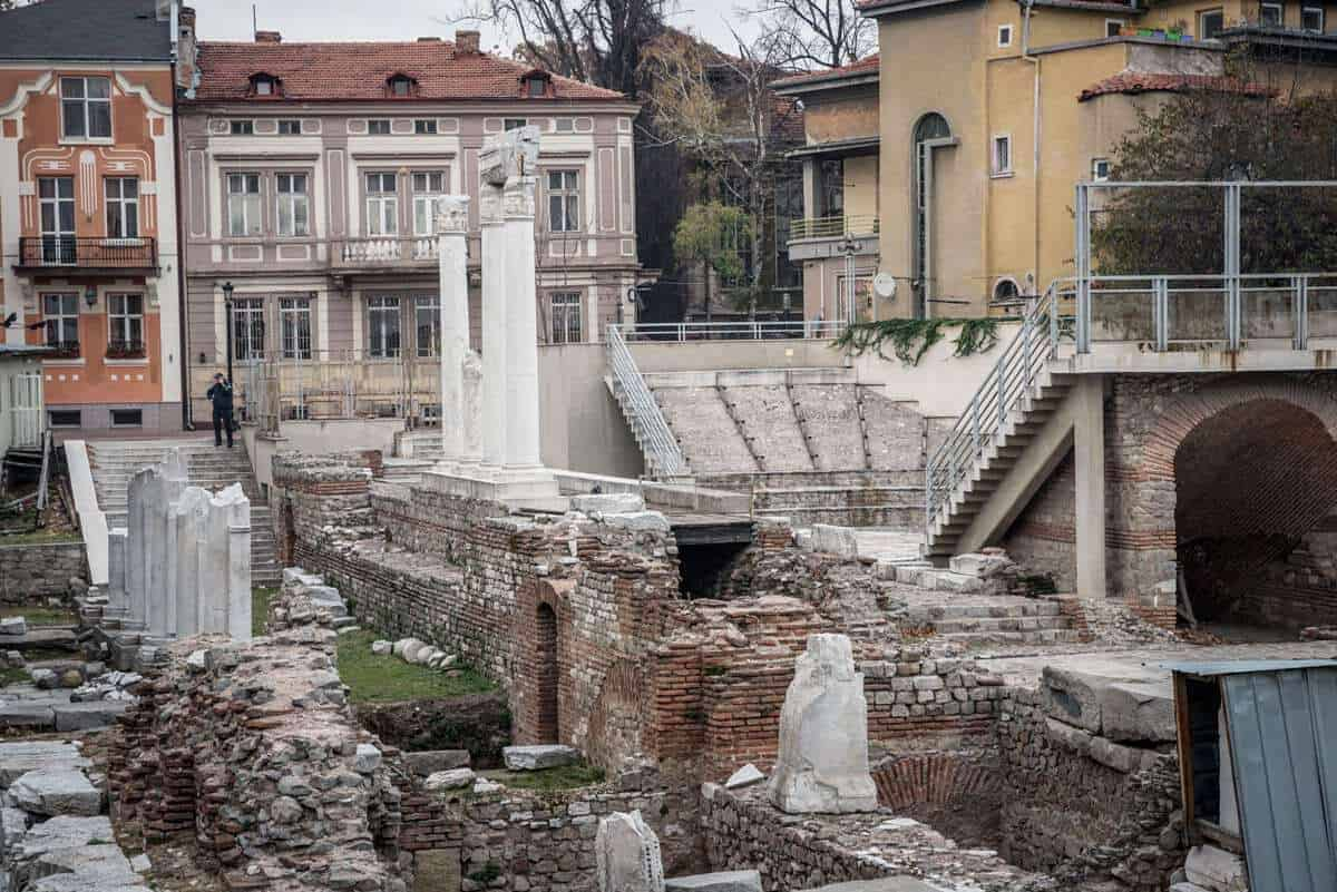 Roman Forum Ruins - Things to do in Plovdiv
